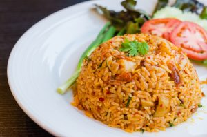 gekookte rijst